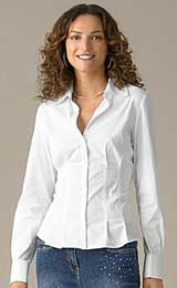 Macy's white blouse