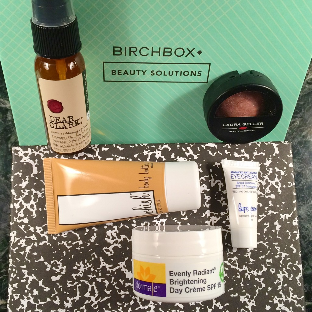 Birchbox March 2015 - reviews and EWG skin deep cosmetics database scores via ClothingCult.com