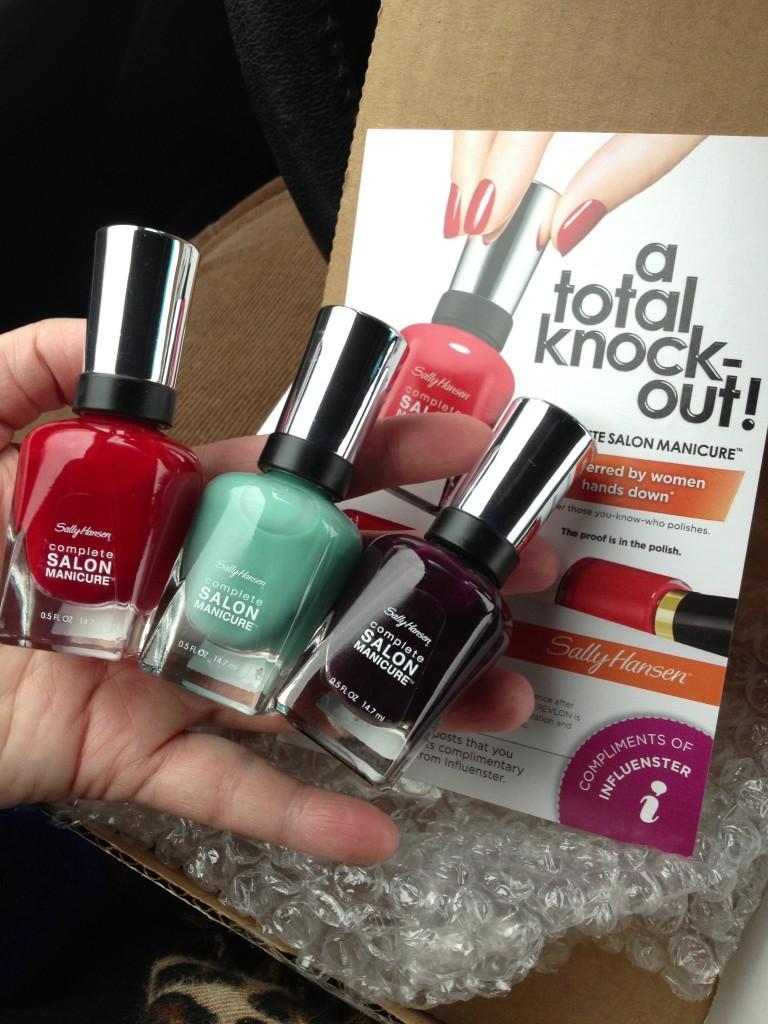 #CSMTKO Sally Hansen Nail Polish Complete Salon Manicure