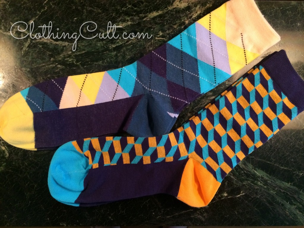 Dapperbox Review summer 2015 -  argyle & patterned socks -  coupon code available at ClothingCult.com