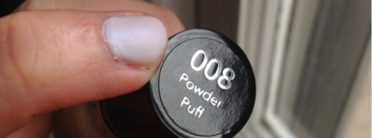 "Revlon ""powder puff"" nail polish"