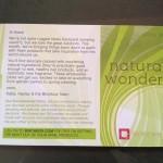 Birchbox April Card front side