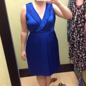 Blue dress Kohl's