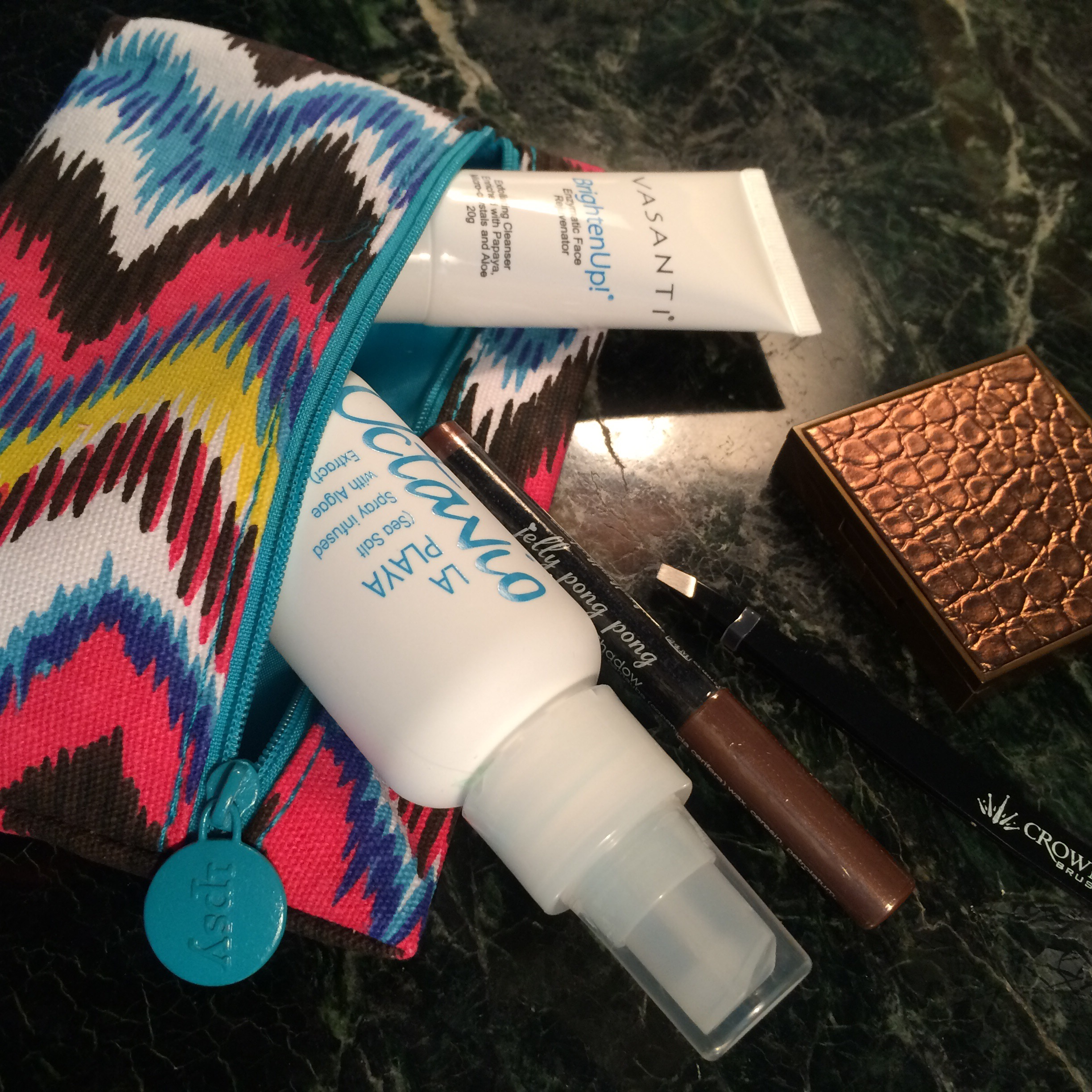 Ipsy Glambag July 2015 and EWG Skin Deep Cosmetics Database Scores via ClothingCult.com