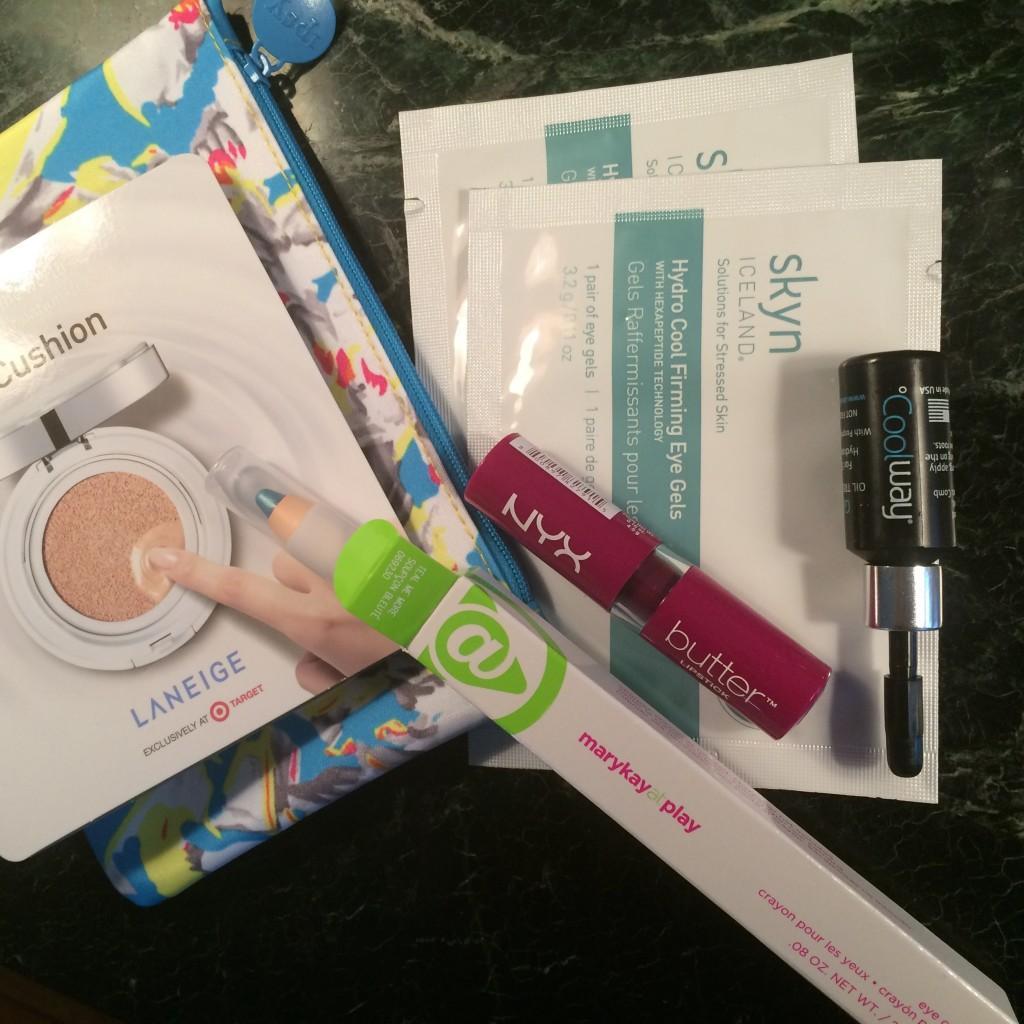 Ipsy Glambag March 2015 - reviews and EWG skin deep cosmetics database scores via ClothingCult.com