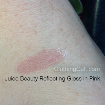 Juice Beauty Reflecting Gloss in Pink swatch