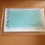 March 2012 Birchbox teen vogue - shiseido Pureness oil control blotting papers