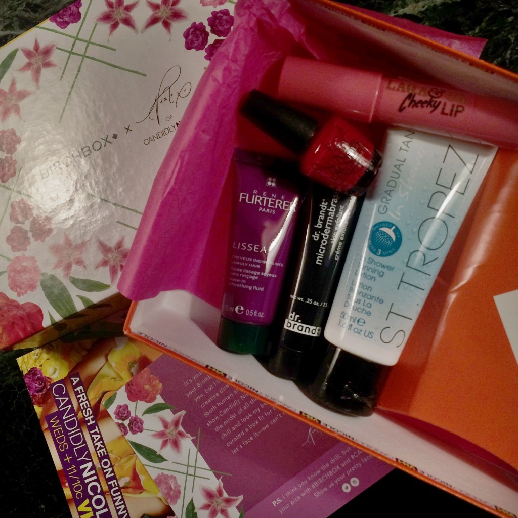 My Birchbox August 2015 and EWG Skin Deep Cosmetics Database scores for each of the products