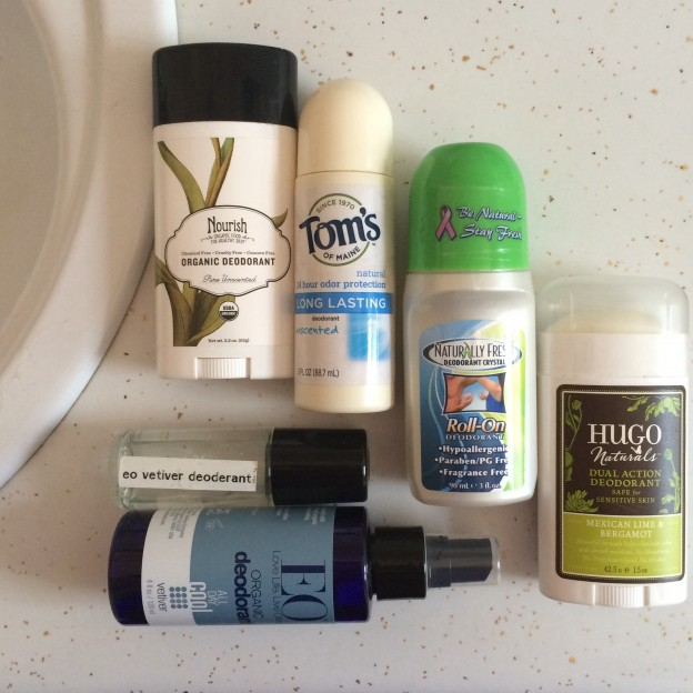 Natural deodorants roundup and review