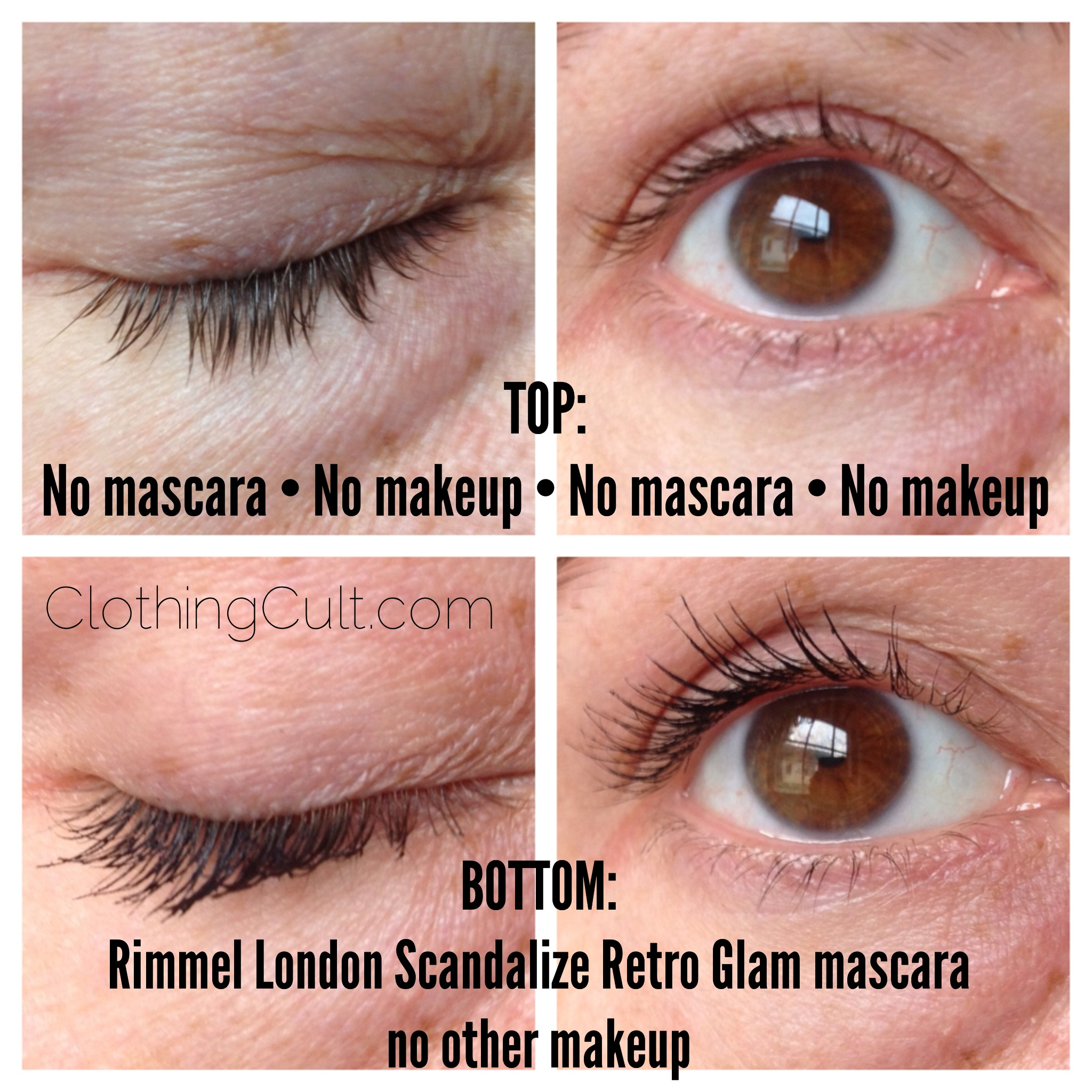 Rimmel London Scandaleyes Retro Glam Mascara review and swatch