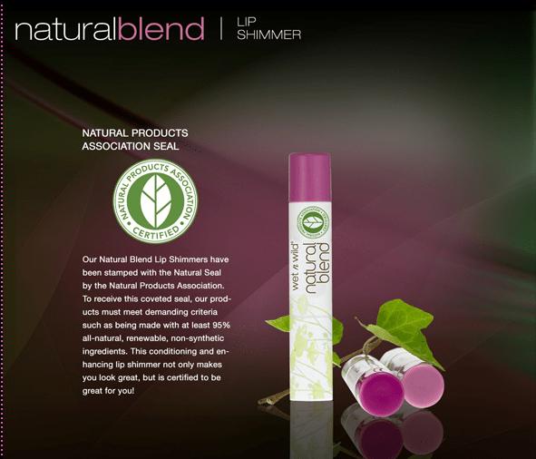 Wet N Wild Natural Blend Lip Shimmer Review
