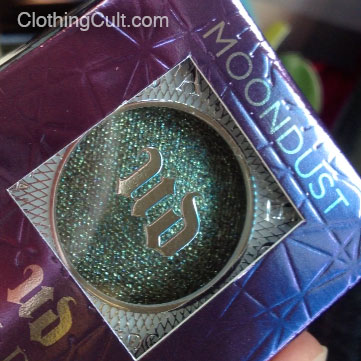 Urban Decay Moondust in Zodiac eyeshadow