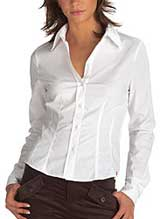 Esprit Poplin Stretch Shirt