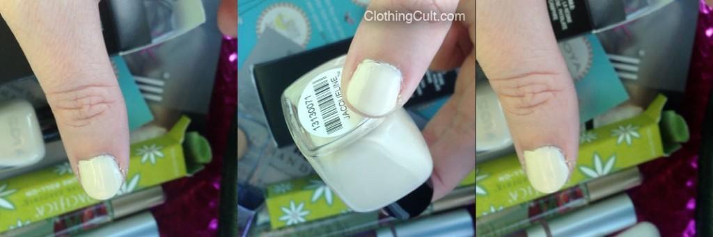 Zoya Jacqueline swatch nail polish