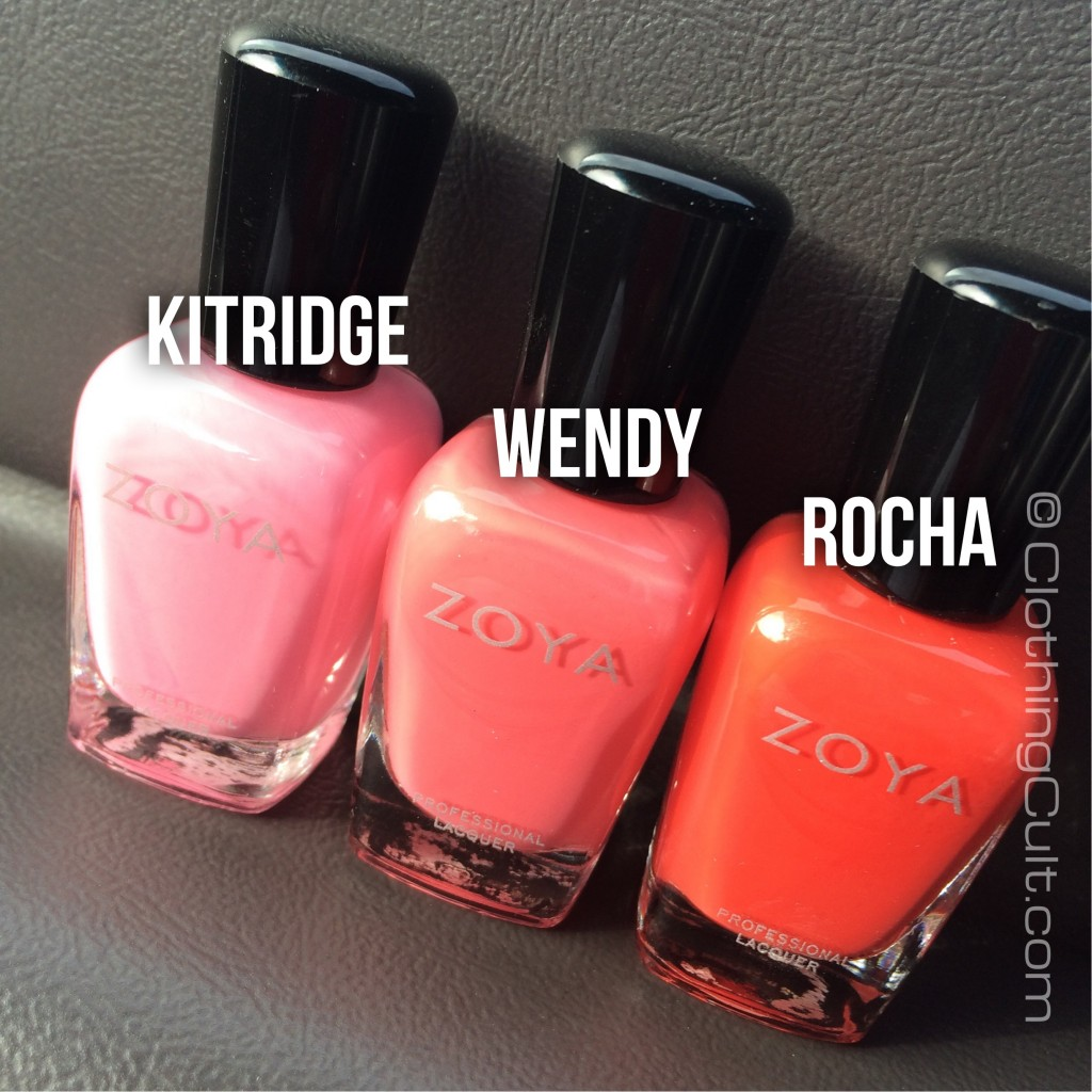Zoya Rocha, Wendy & Kitridge bottles - via ClothingCult.com