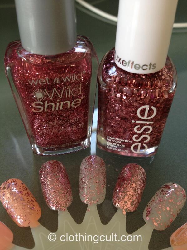 Glittery Pinks - Essie \