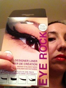 eye rock adhesive eyeliner