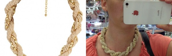 Some Forever21 necklaces May 2012