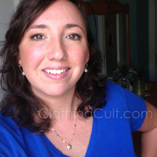 Kohl's remixed necklace from Lauren Conrad necklace & Chaps earrings