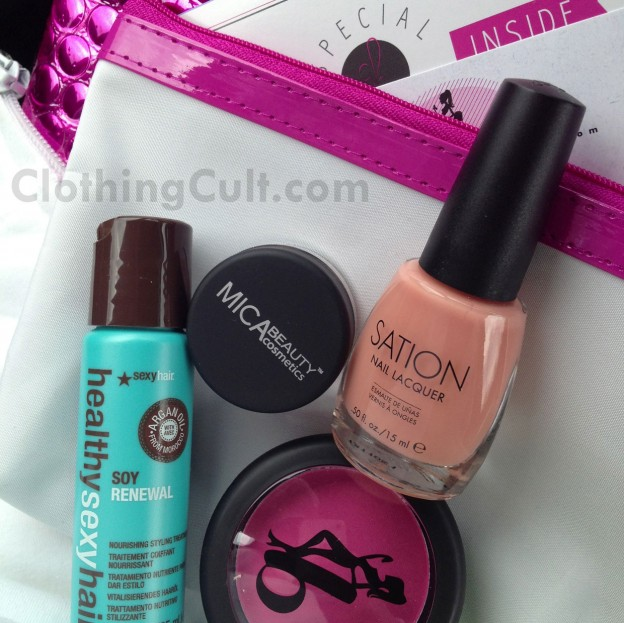 Ipsy bag April 2013 - product overview & review - ClothingCult.com