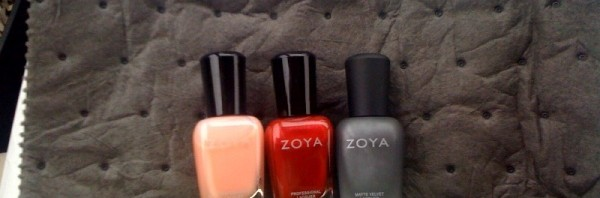 Zoya – they're here!