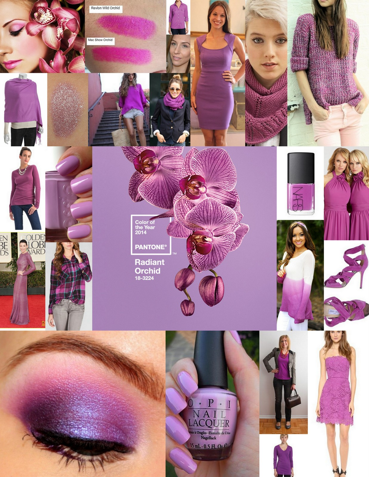 Pantone Color of the year 2014 - radiant orchid - ClothingCult.com