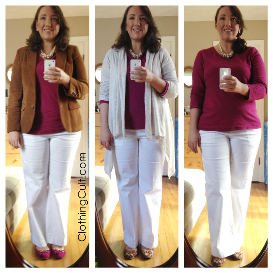 White jeans or pants DO work for fall and winter!